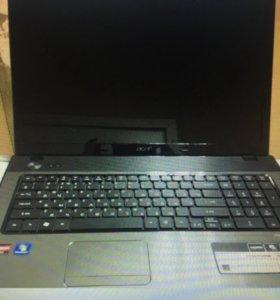 Игровой ноутбук с большим экраном 17 дюймов