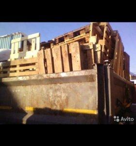 Поддоны на дрова