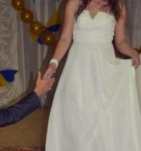Вечернее свадебное выпускное платье