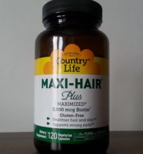Maxi-hair для роста волос и ногтей с Америки