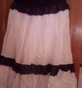 Батистовая юбка