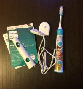 Электрическая, звуковая зубная щётка!