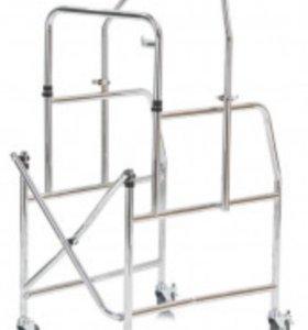Инвалидные ходунки на колёсиках