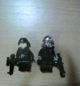 Лего спецназ 2 штуки