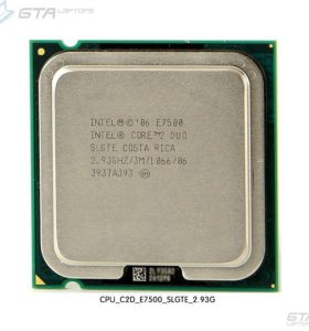 Core 2 Duo E7500 2.93GHz/3Mb/1066MHz S775