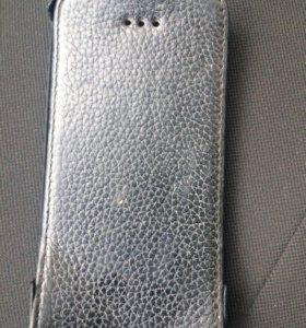 Чехол кожаный iPhone 4
