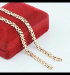 Золотая цепочка для женщин и мужчин