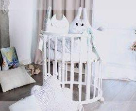 Детская кроватка трансформер 7в1
