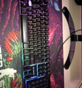 Клавиатура RED SQUARE TESLA RGB