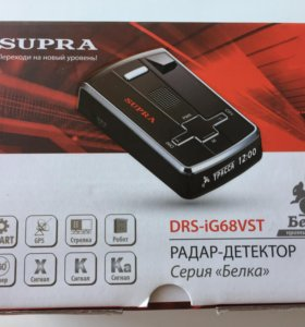Радар-детектор Supra DRS-iG68VST