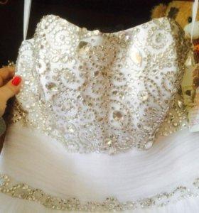 💎Блестящее свадебное платье💎