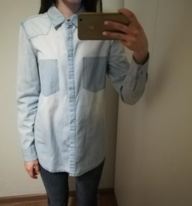 Джинсовая рубашка befree