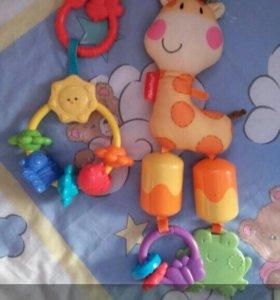 Развивашки игрушки погремушки