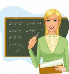 Репетитор по математике (алгебре и геометрии)