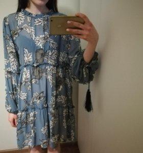 Платье с стиле бохо
