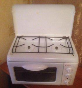 Домашняя печка-плита