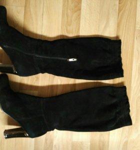Сапоги замшевые Италия RiaRosa+туфли в подарок