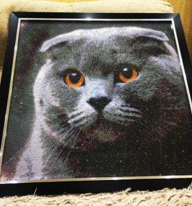 Картина (кошка)