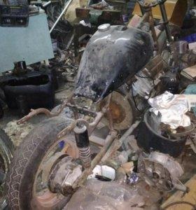 Заготовка мотоцикла