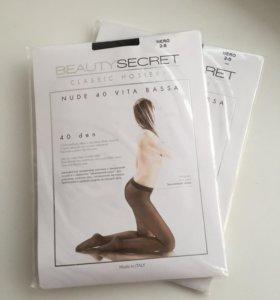 Колготки Beauty Secret 2 размер, 40 den, чёрные