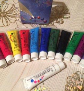 Акриловая краска для дизайна ногтей