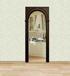 Новая дверная Арка Казанка ПВХ-покрытие