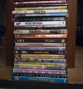 DVD диски с мультфильмами,
