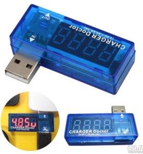 USB ампер-вольтметр (тестер) Charger Doctor