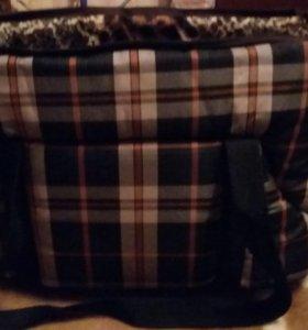 сумка-переноска новая ни разу не пользовались