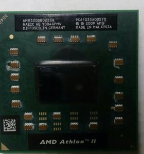 AMD процессор для ноутбука