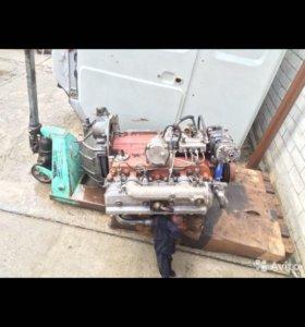 Двигатель на ЗИЛ бычок, Валдай, с коробкой