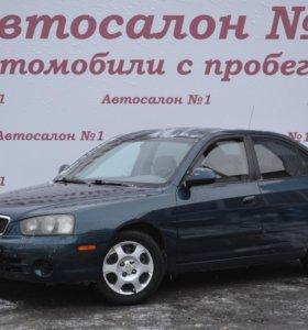 Hyundai Elantra, 2001