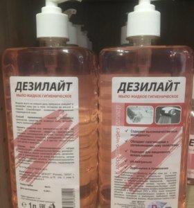 Дезилайт гигиена 1л мыло с дозатором