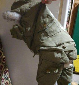 Куртка зимняя для собаки