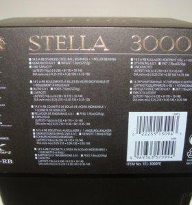 Новая shimano 10 stella 3000FE