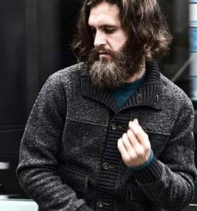 Шерстяная куртка с манжетами Ruck Maul