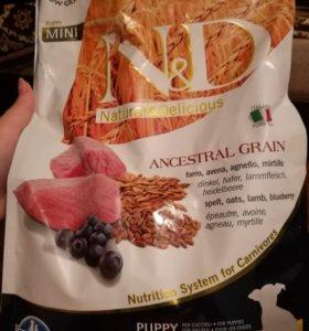 Корм для щенков Natural Delicious