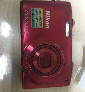 Фотоаппарат Nikon S3300