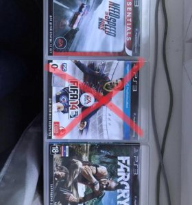3 игры для PS3