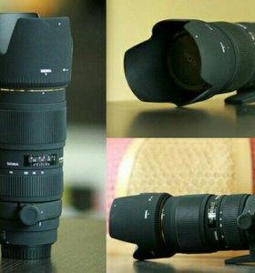 Обьектив Sigma 70-200 mm f2.8 EX APO HSM(Canon)