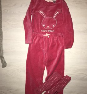 Флисовая пижама Okaidi