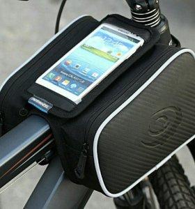 Новая сумка на велосипед