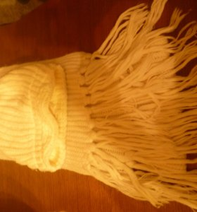 шарф и шапочка(к-т)