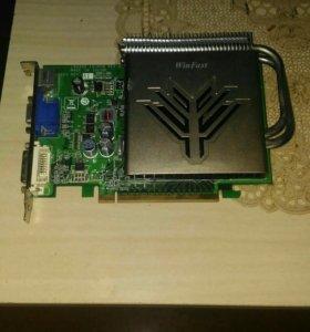 Видеокарта PCI-E 256 mb