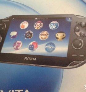 Игровая приставка PlayStation Vita с двумя играми