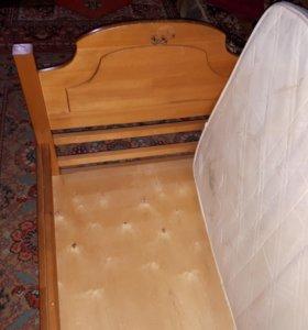 кровать детская 162 /87
