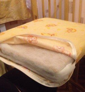Кроватка+матрас кокосовый