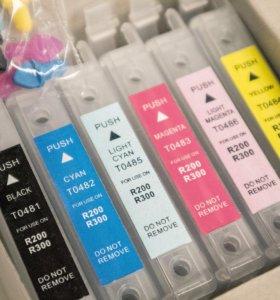 Картриджи для струйного принтера Epson stylus