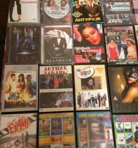 Диски dvd , cd, кассеты