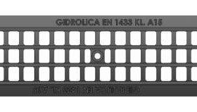 Решётка водоприёмная Gidrolica®Standart РВ-10.13,6